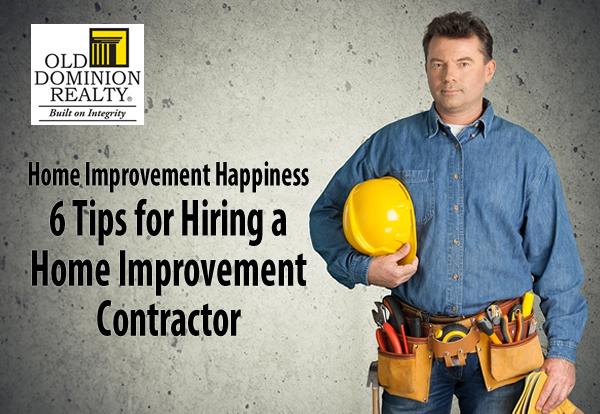 How to Hire a Home Improvement Contractor